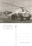 HELICOPTERE - S-58 SABENA - Héliport Issy-Les-Moulineaux - Hélicoptères