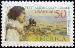 UNITED STATES - Scott #C131 Bering Land Bridge / Used Stamp - 3a. 1961-… Oblitérés