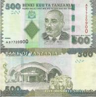 Tanzania P40, 500 Shilingi, Aesculap's Rod, Unversity With Graduating Students - Tanzania