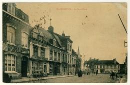 Hazebrouck - La Rue D´Aire     ( Plan Peu Courant .... Année 1925 )  2 Scans - Hazebrouck
