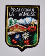écusson Brodé De Pralognan La Vanoise Dept 73 - Ecussons Tissu