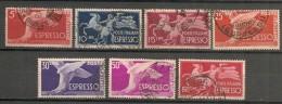 ITALIA - 1945 EXPRES Yvert #27/32 USED - 4. 1944-45 Social Republic