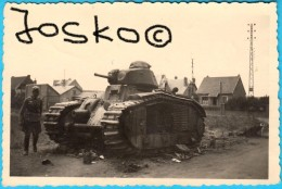 WW2 GERMAN ARMY * TANK - LVOV LVIV UKRAINE EASTERN FRONT ? * ORIGINAL PHOTO * Armee Germany III 3 Third Reich WWII - 1939-45