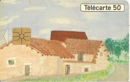CARTE°-PUCE-PRIVEE-PUBLIC-5OU-EN801-Le MOULIN De La CHAISE-UTILISE-TBE - Francia
