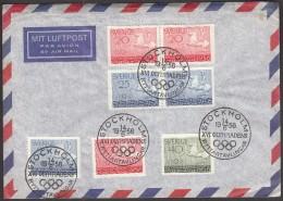 Sweden Stockholm 1956 Olympic Games Melbourne 1956 - Verano 1956: Melbourne
