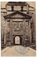 BELFORT--Porte De Brissach N° 38 éd Frossard---Beau Cachet Militaire (colonel Régiment Territorial) - Belfort - Ville