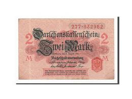 Allemagne, 2 Mark, 1914, KM:54, 1914-08-12, TTB - [13] Bundeskassenschein