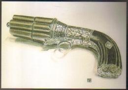 """Carte Postale édition """"Dix Et Demi Quinze"""" - Casimir Lefaucheux (1802 - 1852) L'armurier Percutant (pistolet) - Publicité"""
