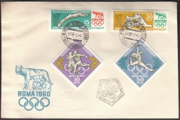 Mongolia Ulan Bator 1960 Olympic Games Rome 1960 / Athletics, Gymnastics - Summer 1960: Rome