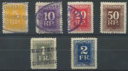 1373 - RÜSCHEGG Fiskalmarken - Fiscaux