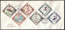 Monaco 1960 Olympic Games Rome 1960 / Equestrian, Athletics, Swimming / Squaw Valley Figure Skating, Alpine Skiing - Verano 1960: Roma