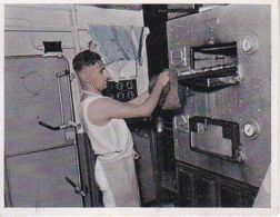 CAID Sammelbild - Unsere Reichsmarine - Kombüsenhengst (22482) - Cigarette Cards