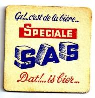Belgique SAS Variante Coins Plus Carrés - Sous-bocks