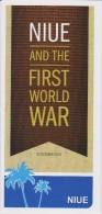 Niue Brochure 2015 First World War - Niue