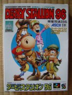 Super Famicom : Derby Stallion 96 - Electronic Games