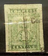 COLOMBIA 1904.__.__ [207d-1] Escudo - Leo 207d - Colombia