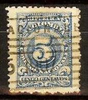 COLOMBIA 1904.03.01 [214-5] Números, Efigie Y Escudo - Colombia
