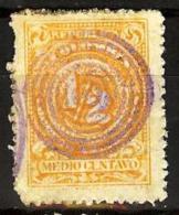 COLOMBIA 1908.__.__ [222-5] Números - Colombia