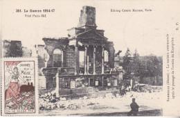 S-  GUERRE 14 17  COMMEMORATION JOURNEE DE LA MEUSE 1917  SOMMEILLE LA MAISON COMMUNALE - France