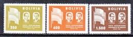 BOLIVIA  411-3  *  FLAGS - Bolivia