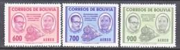 BOLIVIA  C 202-4    **    TRAIN - Bolivia