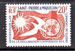 ST. PIERRE &  MIQUELON  356  **   HUMAN  RIGHTS - St.Pierre & Miquelon
