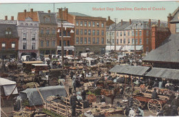 Market Day, Hamilton, Garden Of Canada (top Animation,1911) - Hamilton