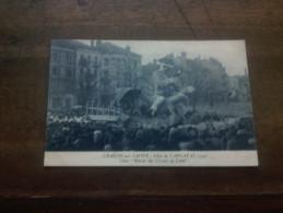 CHALON-sur-SAONE -fetes Du Carnaval De 1925 - Chalon Sur Saone