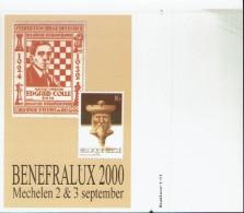 Schaken Schach Chess Ajedrez échecs - Proefdruk - Probedruck - Echecs