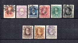 Brasil   1878-79  .-   Y&T  Nº   37/44 - 46 - Brasil