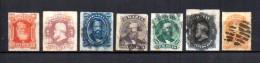 Brasil   1876-77  .-   Y&T  Nº   30/36 - Brasil