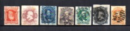 Brasil   1876-77  .-   Y&T  Nº   30/36 - Usados