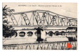05615-LE-82-MOISSAC-Le Cacor-Nouveau Pont De Chemin De Fer - Moissac