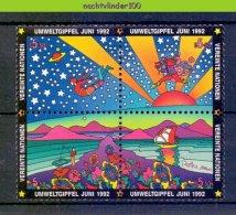Ncz092 MILIEUBESCHERMING ENVIRONMENT PROTECTION UMWELTSCHUTZ UNCED VEREINTE NATIONEN 1992 PF/MNH - Milieubescherming & Klimaat