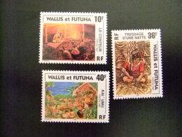 WALLIS ET FUTUNA WALLIS Y FUTUNA 1997 Yvert & Tellier Nº 502 /04 ** MNH - Wallis Y Futuna