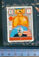 393C/139  JEUX LYMPIQUES SAPPORO 72 OBLTERES AJMAN´ STATE  D.HOLUM U.S.A. - Ajman