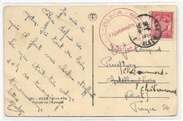 1951 - GUERRE D´ALGERIE - CARTE FM Du 253° BRM 801° COSM à ALGER - Postmark Collection (Covers)