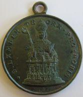 M01911  S. LAMBER TE ORA PRO NOBIS (14g) - Martyre Au Revers - Belgium