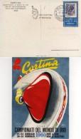 Italia 1960 Cortina Campionati Del Mondo Bob Annullo Bob A Quattro 2^ Giornata Cartolina - Inverno