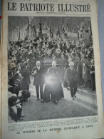 Le Patriote Illustré N°36 Du 04/09/1927 Liège Zeebrugge Ostende - Collections