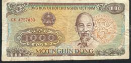 VIETNAM P106b 1000 DONG 1988  VF - Vietnam