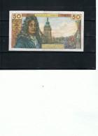 Billets FRANCE 50 F Racine Et 10f Voltaire X3 Prix 81,80 Euros - 1962-1997 ''Francs''