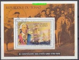 Tchad 1976 US Bicentennial M/s Used (28904) - Tsjaad (1960-...)