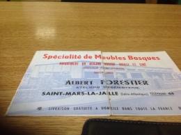 Publicite Meubles Basque  Loire Atlantique Saint Mars La Jaille Foiré Exportions En L état - France