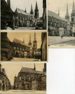 03 - Moulins ; Chevet De La Cathédrale, N°II - Lot De 10 Cartes. - Moulins