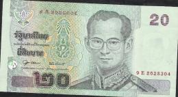 THAILAND P109 20  BAHT  2003 Signature 19 XF - Thailand