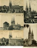 03 - Moulins ; La Cathédrale, N°I - Lot De 10 Cartes. - Moulins