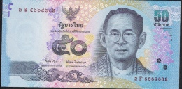 THAILAND P163  50  BAHT  2011 Signature 84   XF - Thailand