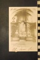 CP 46, FIGEAC Retable De L'Eglise Du Puy, Dos Simple, 1902 - Figeac