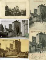 03 - Moulins ; La Malcoiffée, N°II - Lot De 10 Cartes. - Moulins